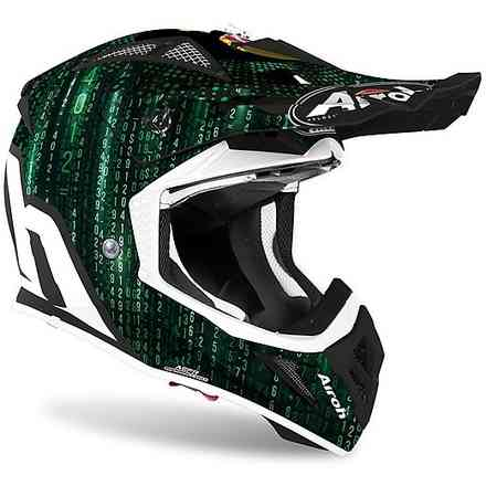 Casco Aviator Ace Insane Opaco Airoh
