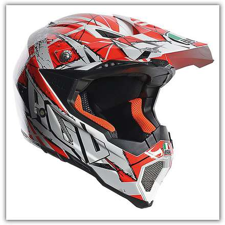 Casco Ax-8  Evo Scratch Agv