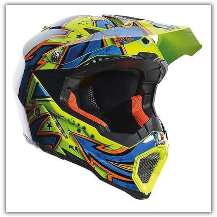 Casco Ax-8  Evo Spray  Agv