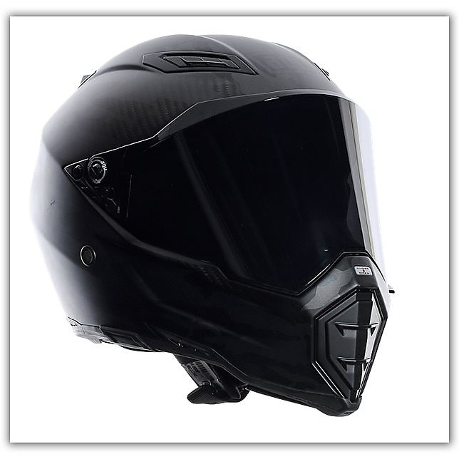 Casco Ax-8 Fury Naked Carbon Agv
