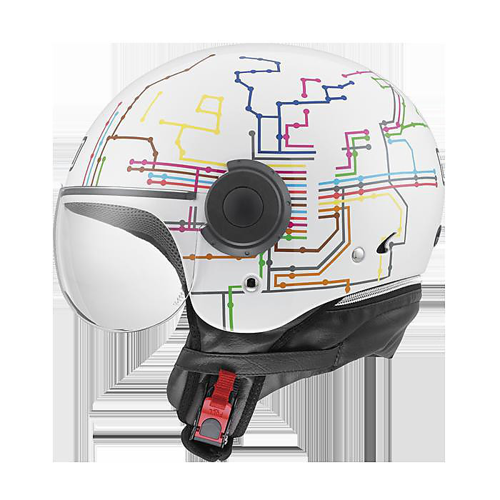 Casco Bali Copter subway Agv