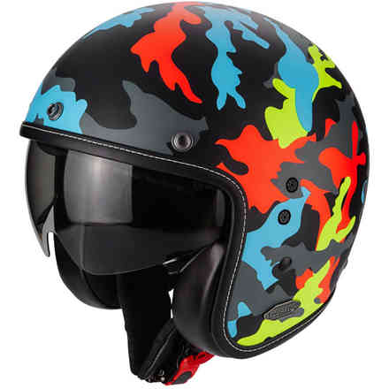 Casco Belfast Mission multicolore Scorpion