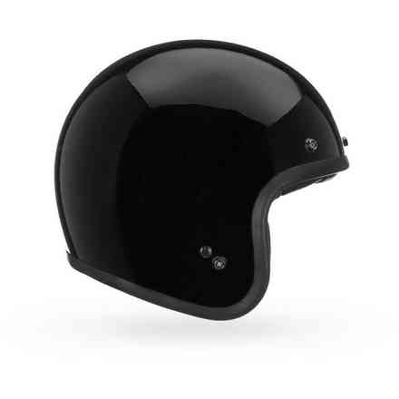 Casco Bell Custom 500 Dlx Solid nero lucido Bell
