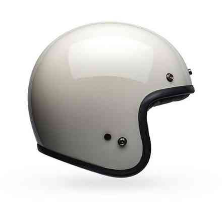 Casco Bell Custom 500 Dlx Solid Vintage bianco Bell