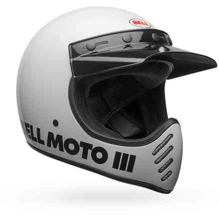 Casco Bell Moto-3 Classic Bianco Bell