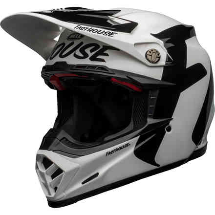 Casco Bell Moto-9 Flex Fasthouse Newhall Bianco Bell
