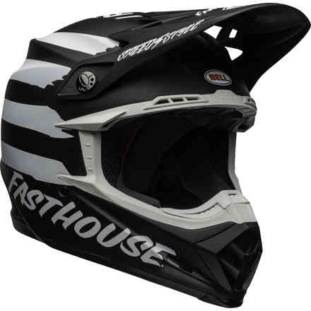 Casco BELL Moto-9 Mips Fasthouse Signia Nero Bell