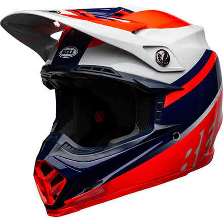 Casco Bell Moto-9 Mips Prophecy Rosso Bell