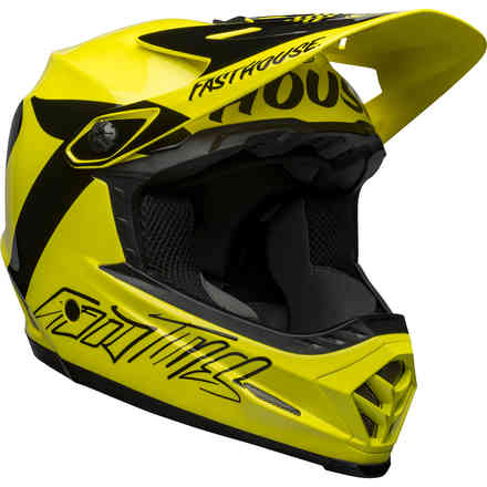 Casco Bell Moto-9 Youth Mips Fasthouse Giallo Nero Bell