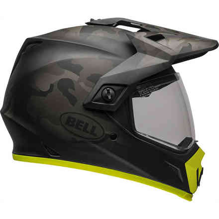 Casco Bell Mx-9 Adventure Mips Stealth nero giallo hi-vision Bell