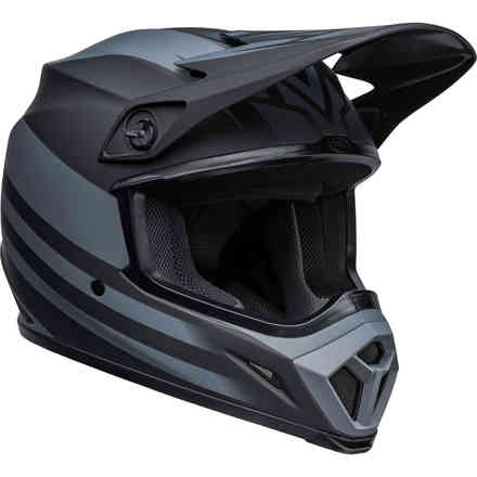 Casco BELL Mx-9 Mips Disrupt Nero Opaco Charcoal Bell