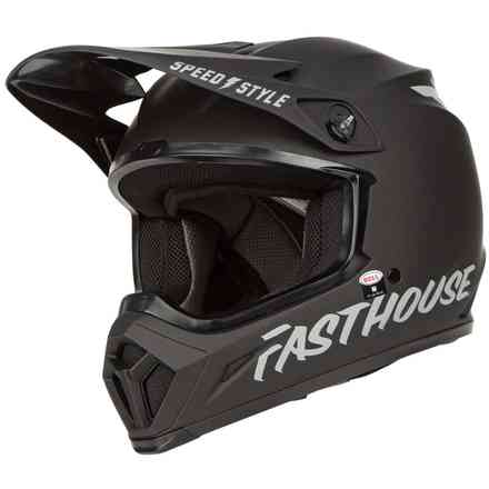 Casco Bell Mx-9 Mips Fasthouse Nero Opaco Bell