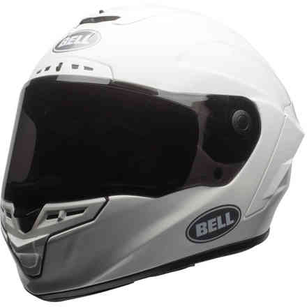 Casco Bell Star Dlx Mips Solid White Bell