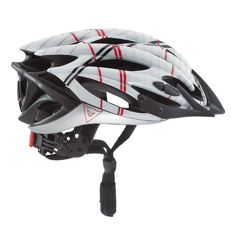 Casco bici bianco-rosso Speed Air Xc  Dainese