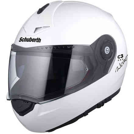 Casco C3 pro woman glossy white Schuberth