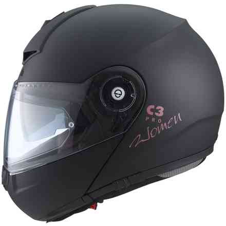 Casco C3 pro women matt black Schuberth