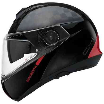 Casco C4 Pro Carbon Ece Fusion Red Schuberth
