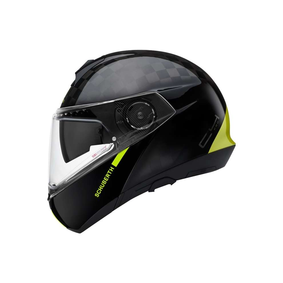 Casco C4 Pro Carbon Ece Fusion Yellow Schuberth