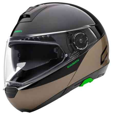 Casco C4 Pro Swipe marrone Schuberth