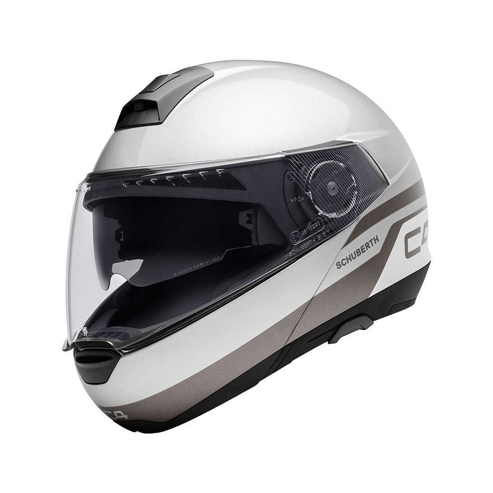 Casco C4 Pulse argento Schuberth