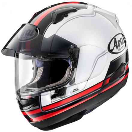Casco Casco Qv-Pro Stint Red Arai