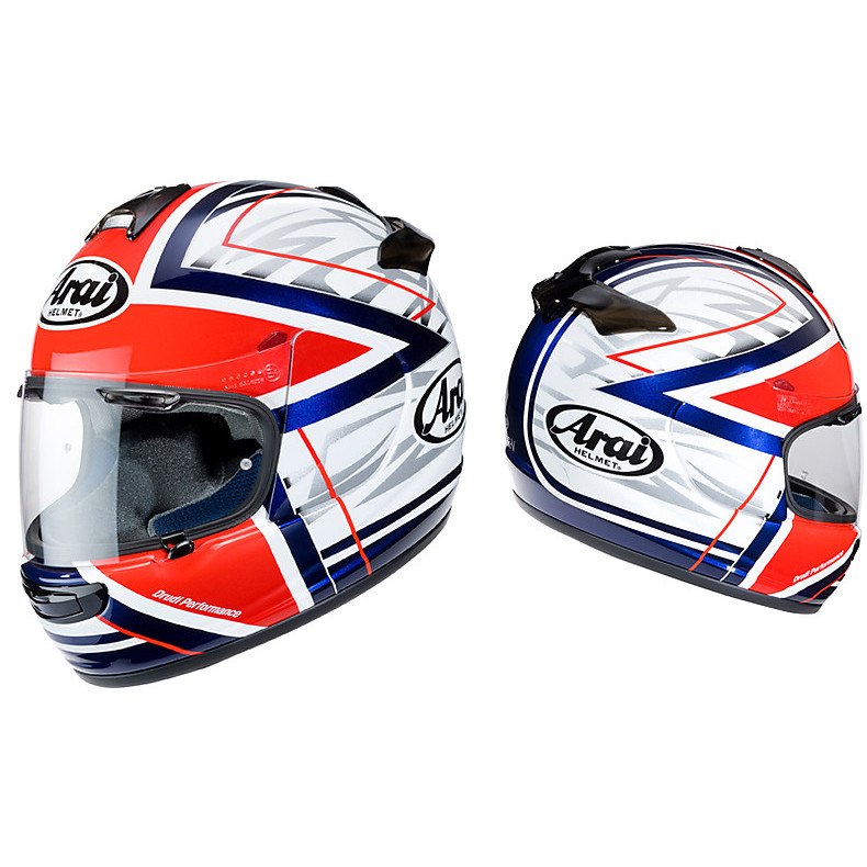 Casco Chaser - V Superstar Red Arai