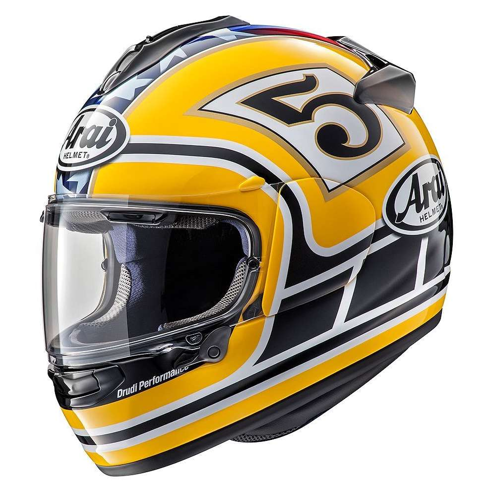 Casco Chaser-X Edwards Legend Giallo Arai