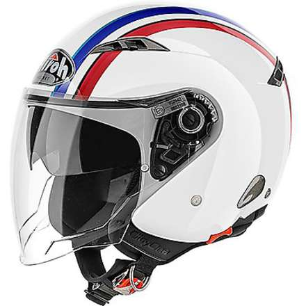 Casco City One Style bianco Airoh