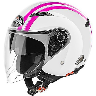 Casco City One Style rosa Airoh
