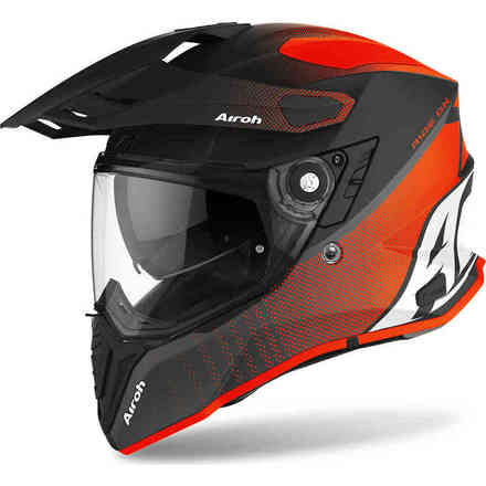 Casco Commander Progress Arancione Opaco Airoh