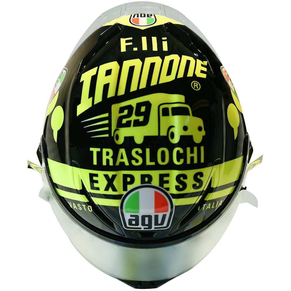 Casco Corsa R Iannone Winter Test 2017 Ed. Limitata Agv