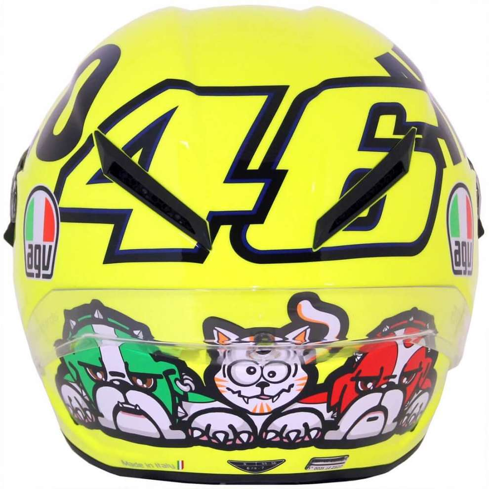 Casco Corsa R Rossi Limited Edition Mugello 2016 Agv