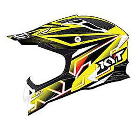 Casco Cross Strike Eagle Stripe  KYT