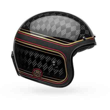 Casco Custom 500 Carbon Rsd Checkmate Bell