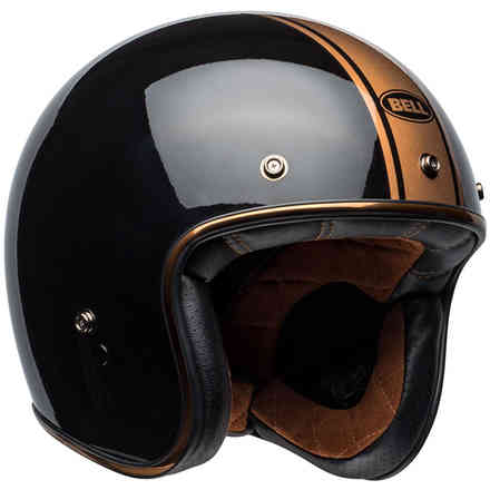 Casco Custom 500 Rally nero bronzo lucido Bell