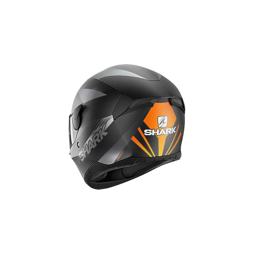 Casco D-Skwal 2 Mercurium nero antracite opaco Shark