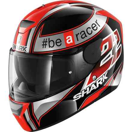 Casco D-Skwal Sam Lowes Rosso Shark