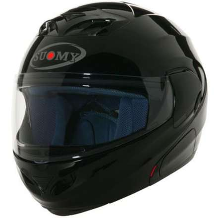Casco D20 Plain Black Suomy