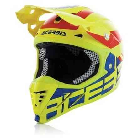 Casco da motocross Profile 3.0 blackmamba Acerbis