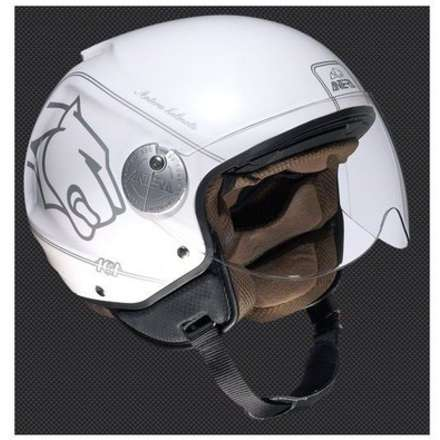 Casco Demi-Jet 101 Luxury Antera
