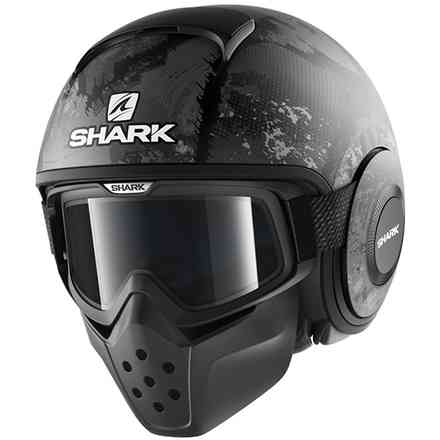 Casco Drak Evok Mat Nero Shark
