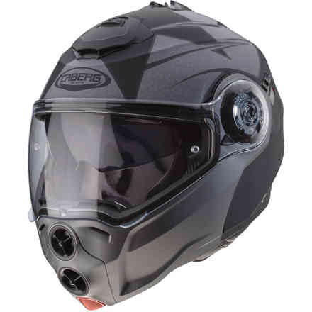 Casco Droid Patriot nero antracite opaco Caberg