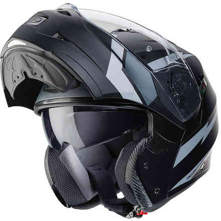 Casco Duke Ii Kito Matt Nero / Antracite Caberg