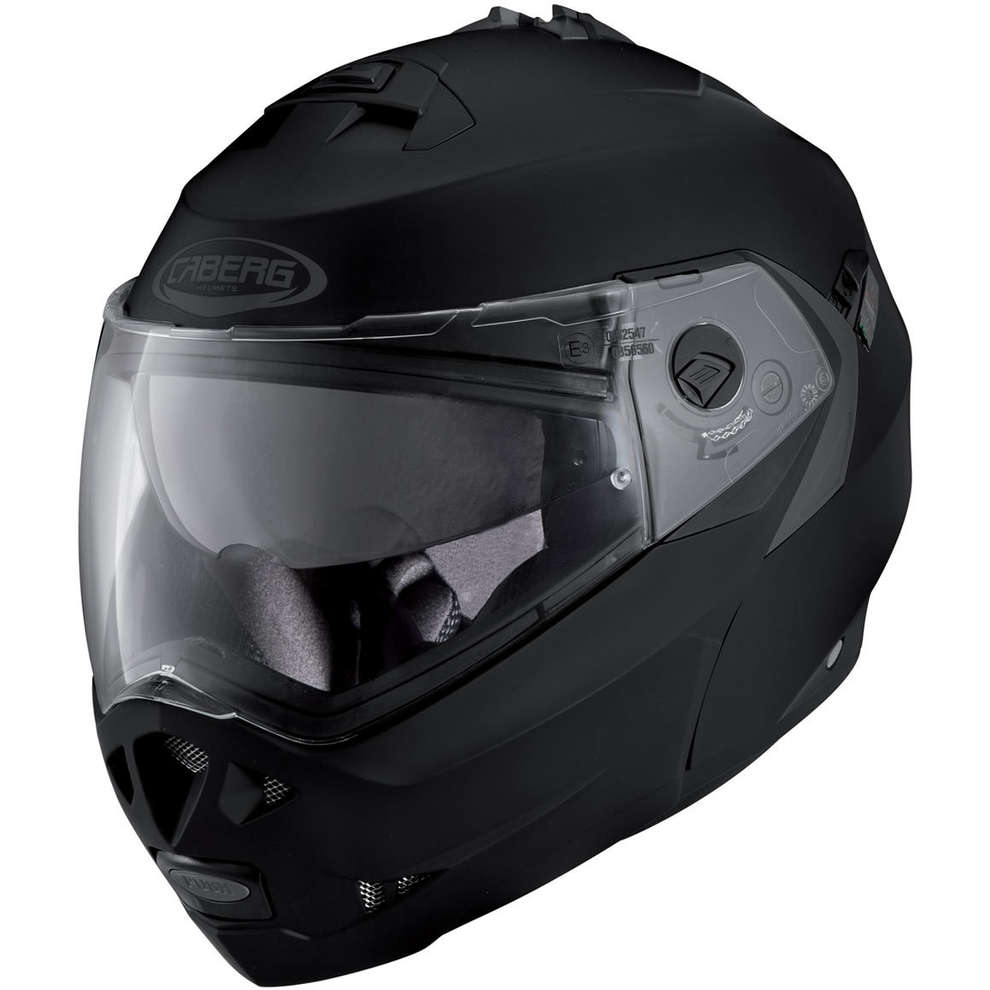 Casco Duke II matt black Caberg