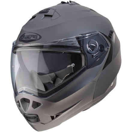 Casco Duke II Matt Gun Metal Caberg