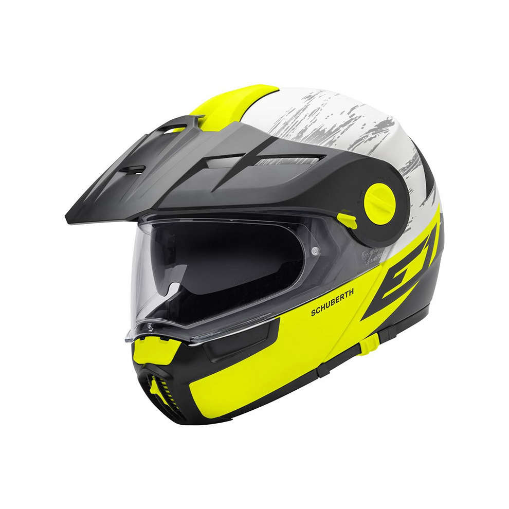 Casco E1 Crossfire giallo Schuberth