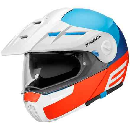 Casco E1 Cut Blu Schuberth
