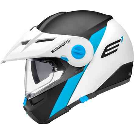 Casco E1 Gravity Blue Schuberth