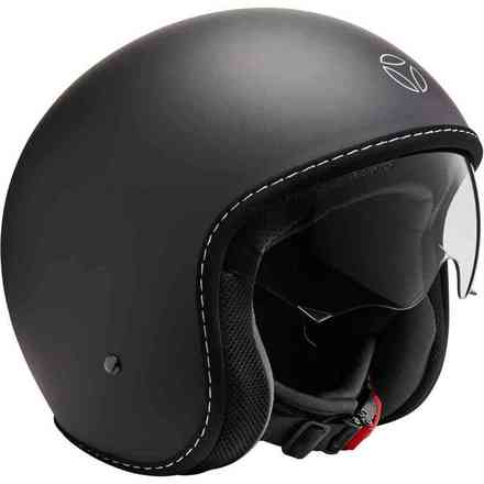 Casco Eagle Pure Black Matt Momo