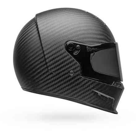 Casco Eliminator Carbon Solid Helmet nero opaco Bell